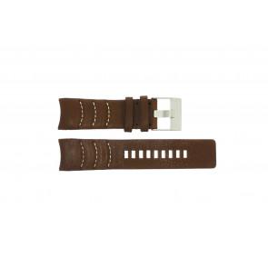 Horlogeband Diesel DZ4037 Leder Bruin 26mm