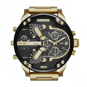 Horlogeband Diesel DZ7333 Staal Doublé 28mm