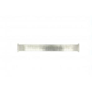 Horlogeband EC113 Staal Zilver 18mm
