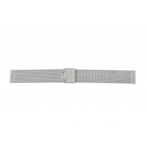 Horlogeband WoW MESH-18.1.5 Staal Staal 18mm