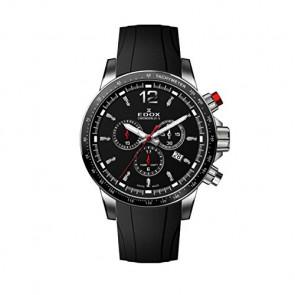 Horlogeband Edox 10229-3CA-NIN Rubber Zwart
