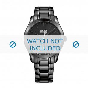 Hugo Boss horlogeband HB-269-1-49-2792 / HB1513223 Keramiek Zwart