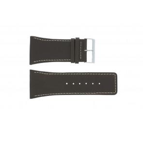 Horlogeband Universeel P310 Leder Bruin 38mm