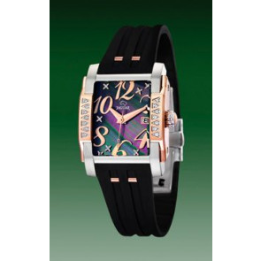 Horlogeband Jaguar J648-2 Rubber Zwart