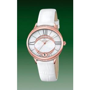 Horlogeband Jaguar J804-1 Leder Wit
