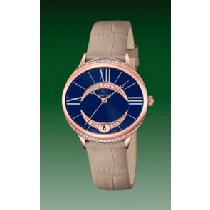 Horlogeband Jaguar J804-2 Leder Lichtbruin