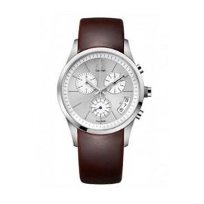 Horlogeband Calvin Klein K22271 Rubber Bruin