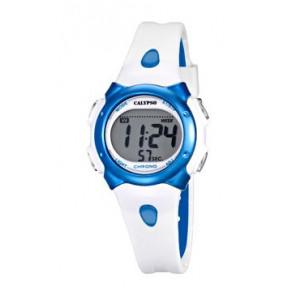 Horlogeband Calypso K5609-4 Rubber Wit