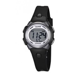 Horlogeband Calypso K5609-6 Rubber Zwart