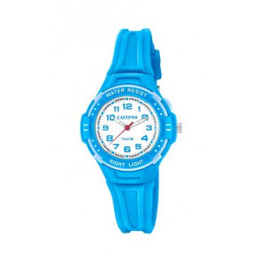 Horlogeband Calypso K6070-3 Rubber Blauw