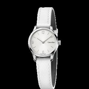 Horlogeband Calvin Klein K7V231 Leder Wit 12mm