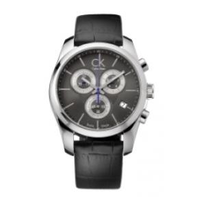 Horlogeband Calvin Klein 271 Leder Zwart
