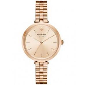 Kate Spade New York horlogeband KSW1134 Staal Rosé