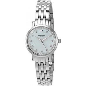 Kate Spade New York horlogeband KSW1241 / MINI MONTEREY Staal Zilver