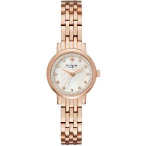 Kate Spade New York horlogeband KSW1243 / MINI MONTEREY Staal Rosé
