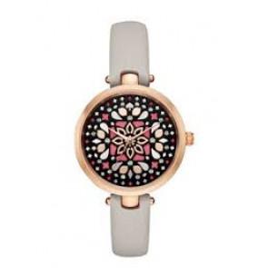 Horlogeband Kate Spade New York KSW1260 Leder Taupe 5mm