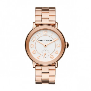 Horlogeband Marc by Marc Jacobs MJ3471 Staal Rosé 18mm