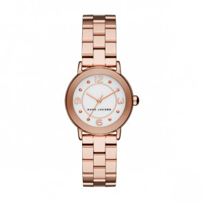 Horlogeband Marc by Marc Jacobs MJ3474 Staal Rosé 14mm