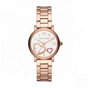 Horlogeband Marc by Marc Jacobs MJ3592 Staal Rosé 14mm