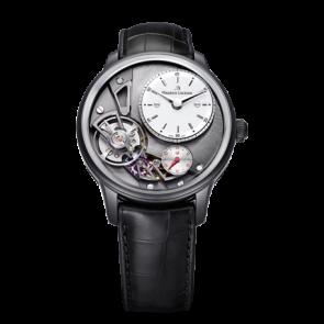 Horlogeband Maurice Lacroix Gravity ML550-000256 Krokodillenleer Zwart