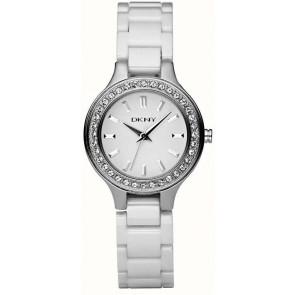 Horlogeband DKNY NY4982 Keramiek Wit