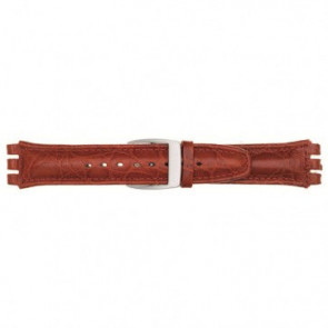 Band passend aan Swatch rood 19mm 07M