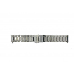 Horlogeband QQ22RHSHI Staal Zilver 22mm