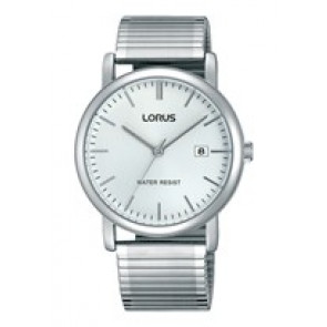Lorus horlogeband RG855CX9 / VJ32 X246 / RHA042X Staal Zilver 19mm