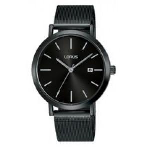 Horlogeband Lorus PC32-X144-RH943JX9 Staal Zwart