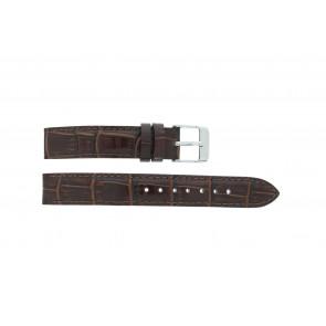 Lorus horlogeband V501 X292 / RRS73UX-9 / V501- X29201A Leder Bruin 14mm + standaard stiksel