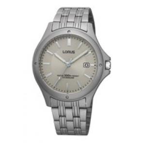 Horlogeband Lorus VX32-X384-RXD75EX9 Titanium Titanium