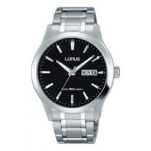 Horlogeband Lorus VX43-X096-RXN23DX9 Staal Staal