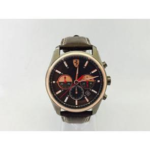 Horlogeband Ferrari SF-21.1.34.0142 / 689300142 Leder Bruin