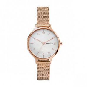 Horlogeband Skagen SKW2633 Staal Rosé 14mm