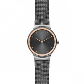 Horlogeband Skagen SKW2707 Staal Antracietgrijs 16mm