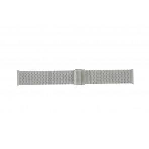 Morellato horlogeband ST1722 Staal Zilver 22mm