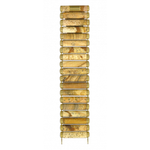 Horlogeband Tissot T608014383 / T608.R151917 Keramiek Bruin