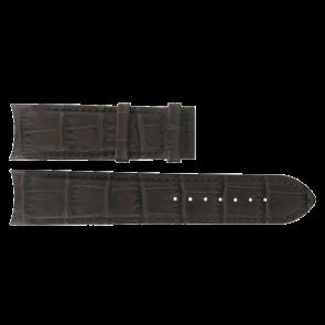 Horlogeband Tissot T610028569 Leder Bruin