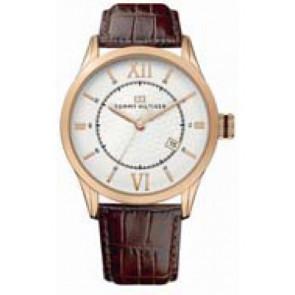 Horlogeband Tommy Hilfiger TH-85-1-34-0816 - TH679301079 Leder Bruin 21mm