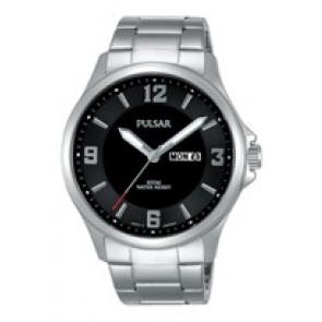 Horlogeband Pulsar VJ33-X024-PJ6079X1 Staal Staal 22mm