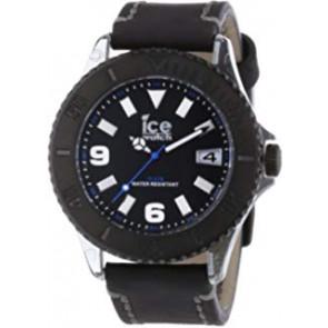Horlogeband Ice Watch VTBKB.B.L.13 / VTBK.BB.L.13 Leder Zwart 22mm
