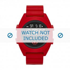 Adidas horlogeband ADH2909 Silicoon Rood 24mm