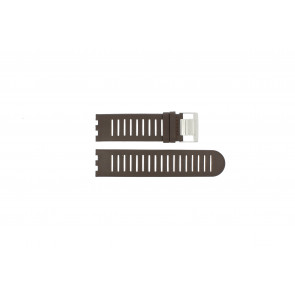 Alessi horlogeband AL14001 Leder Bruin 25mm