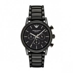 Horlogeband Armani AR1507 Keramiek Zwart