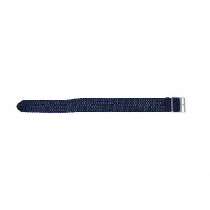 Perlon band 20mm blauw