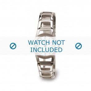 Boccia horlogeband 3140-01 Titanium Zilver 22mm