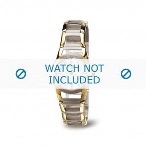 Boccia horlogeband 3140-02 Titanium Goud (Doublé) 22mm