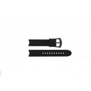 Horlogeband Buddha to Buddha BTB.F.R.CH.04 Rubber Zwart 18mm