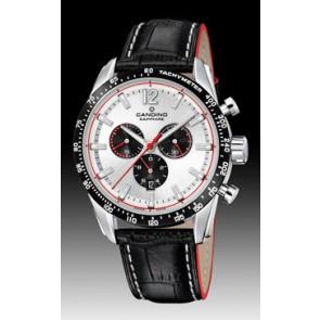 Horlogeband Candino C4681 Leder Zwart