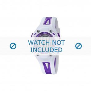 Calypso horlogeband K5666-2 Kunststof / Plastic Paars 21mm